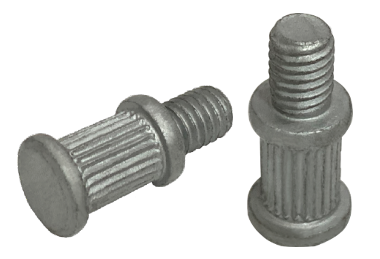 Open Die Knurled Screw