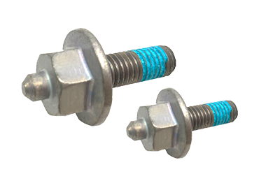 Hex Flange Head Screw w/ Patch